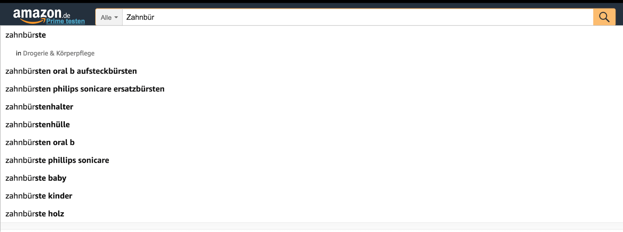 Amazon PPC Search