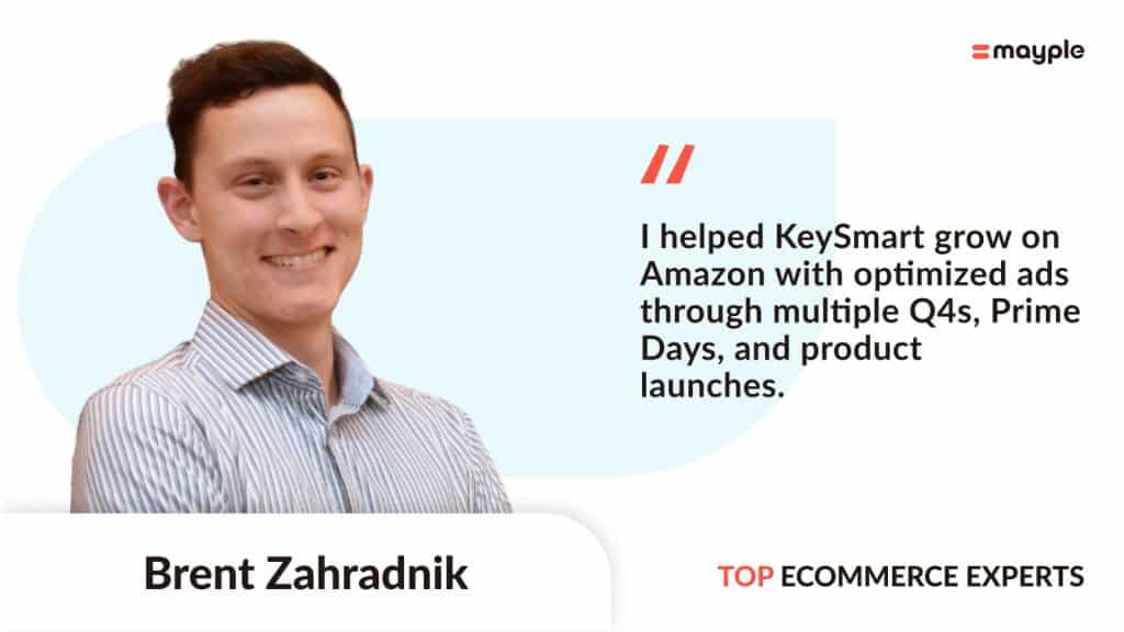 Brent quoted on mayple.co about our results for KeySmart, long time client of AMZ Pathfinder